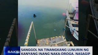 Saksi: Sanggol na tinangkang lunurin ng kanyang inang naka-droga, nasagip
