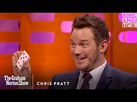 Chris Pratt Knows The Best Card Trick Ever - The Graham Norton Show