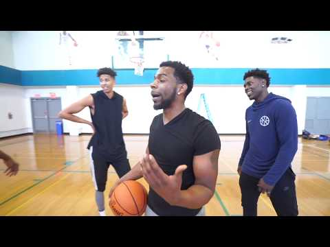 SHOOTOUT 2 V 2 W/ NBA PLAYER JRUE HOLIDAY FT CASH & LSK (2 HYPE)