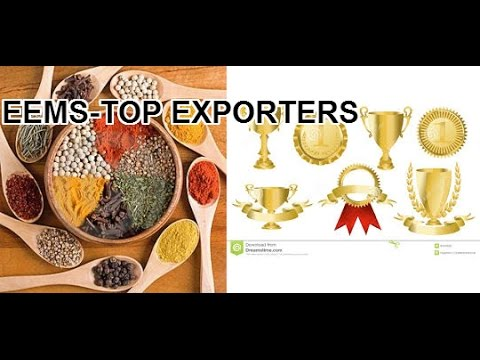 Efficient Export Marketing of Spices for top exporters, EEMS-01270515