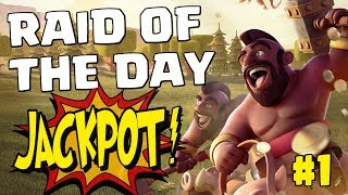 RAID OF THE DAY #1 - TH9 LALOONION | Mister Clash - Clash of Clans