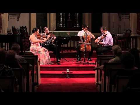 Mendelssohn String Quartet No. 1 in E-flat Major, Op.  12