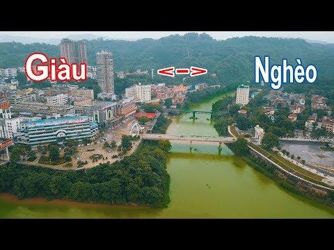 Sự khác biệt nơi biên giới Việt Nam và Trung Quốc