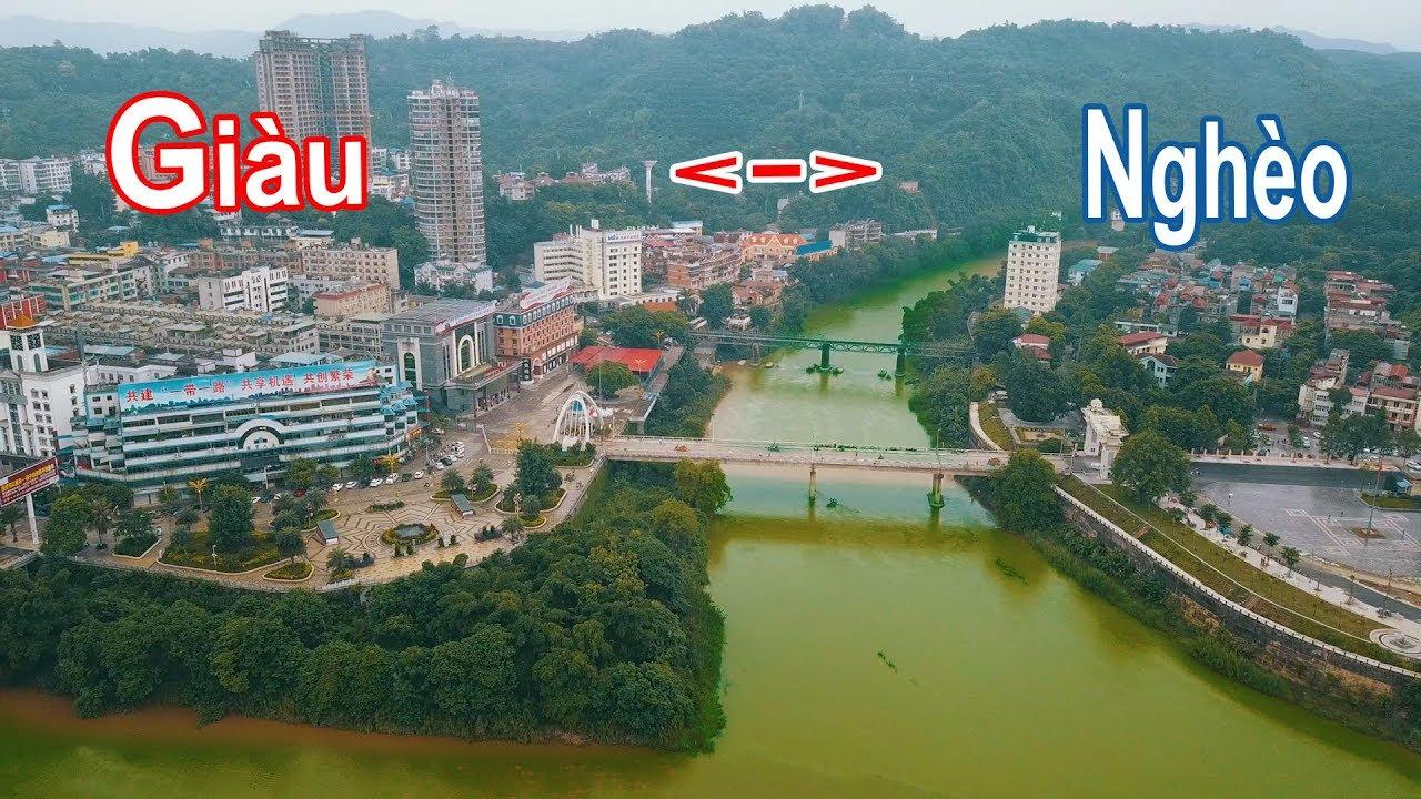Sự khác biệt nơi biên giới Việt Nam và Trung Quốc – Toàn cảnh cửa khẩu Lào Cai