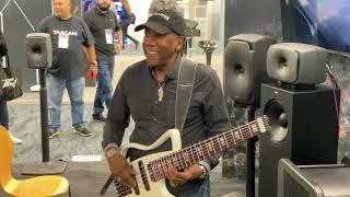 Stevie Wonder surprises Nathan East at Namm 2020!