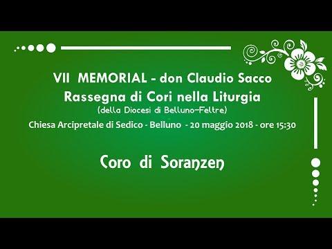 VII MEMORIAL don Claudio Sacco Sonador - Rassegna di Cori nella Liturgia