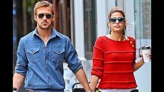 Райан Гослинг и Ева Мендес 2018 их дочки!★Ryan Gosling and Eva Mendes 2018 their daughters!