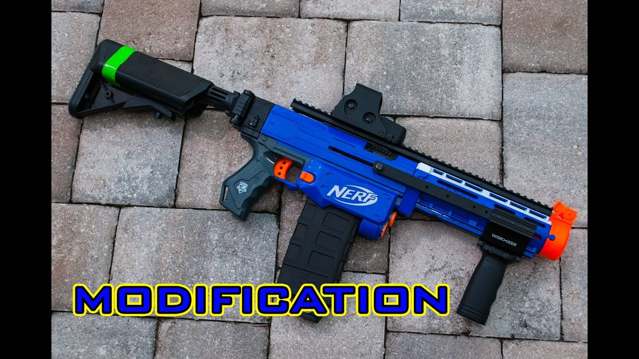 [MOD] Nerf Retaliator Modification