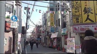《乗り換え》メトロ南北線、王子神谷駅からJR京浜東北線、東十条駅へ。