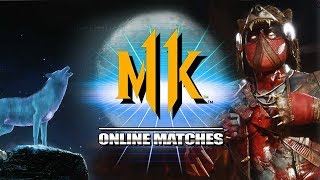 Evil Nightwolf Skin Is SICK! Nightwolf - Mortal Kombat 11 Online Matches