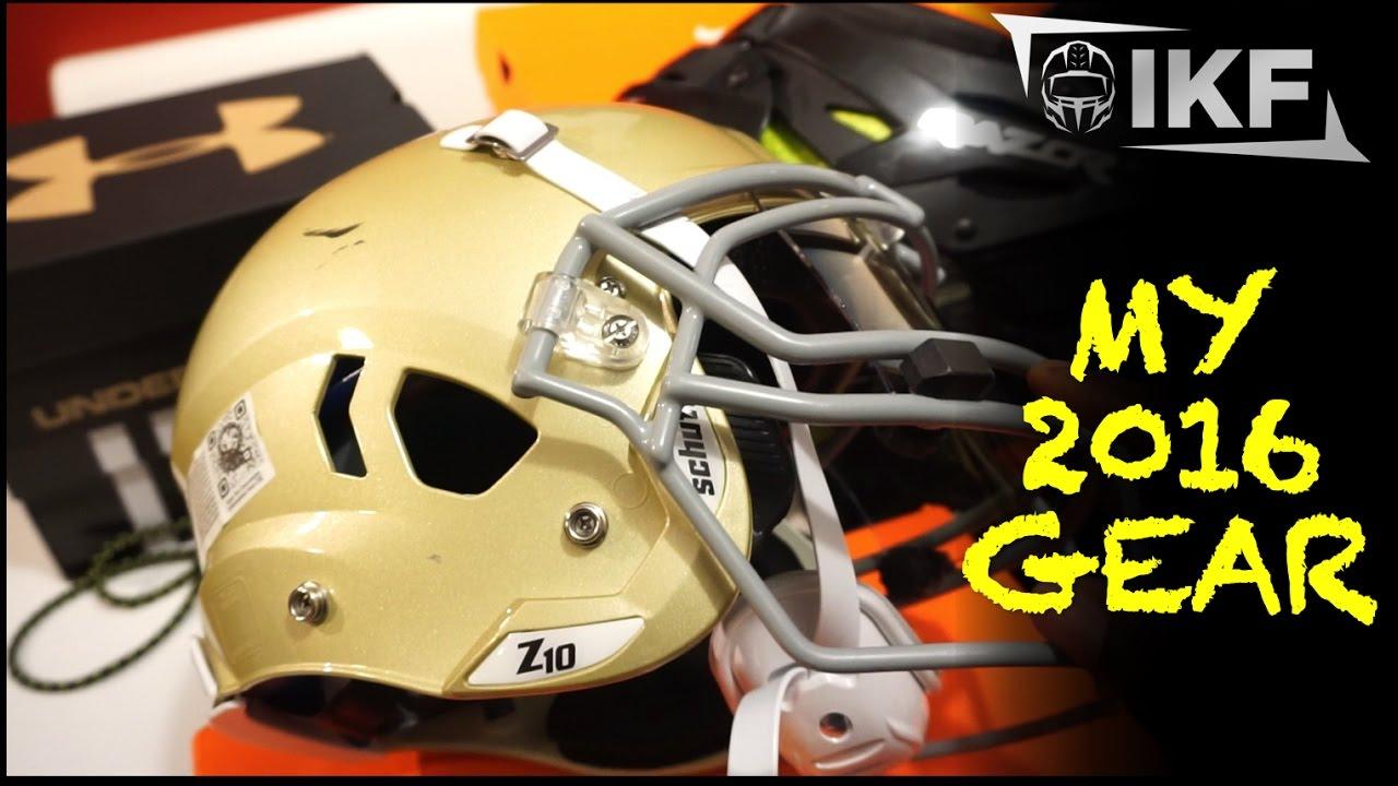 My 2016 Football Gear Equipment - Ep. 319 - YouTube 2bacdc859c