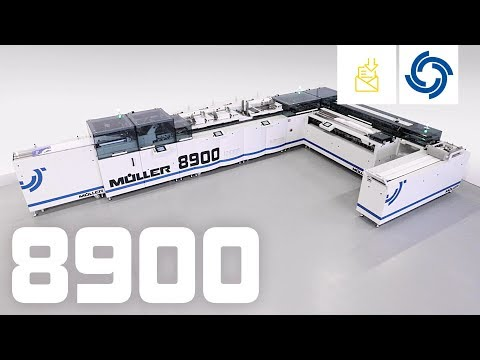 Müller 8900. Multiformat High-Performance Inserting System