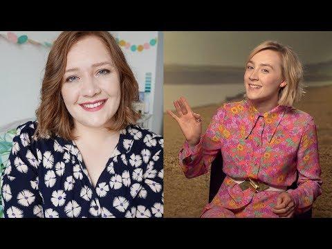 😍 I Interviewed Saoirse Ronan! | On Chesil Beach, Favourite Books & Hamilton
