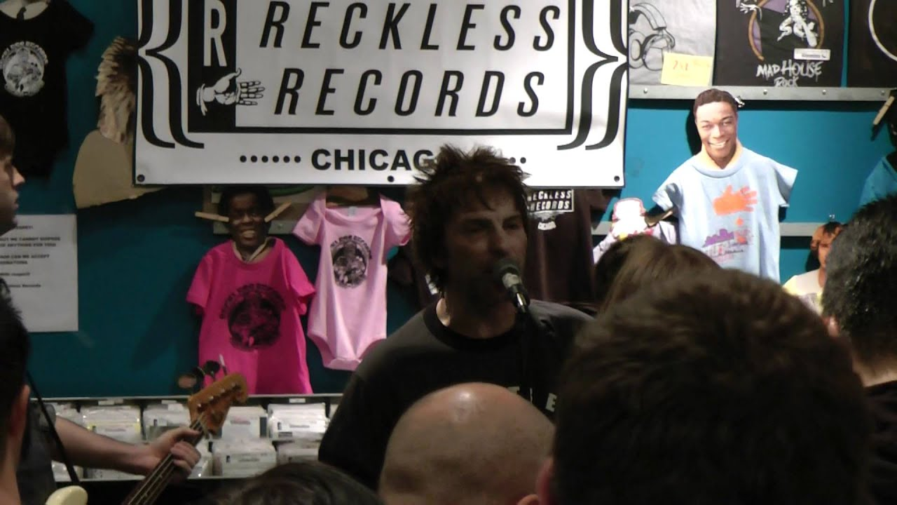Tommy Stinson at Reckless Records