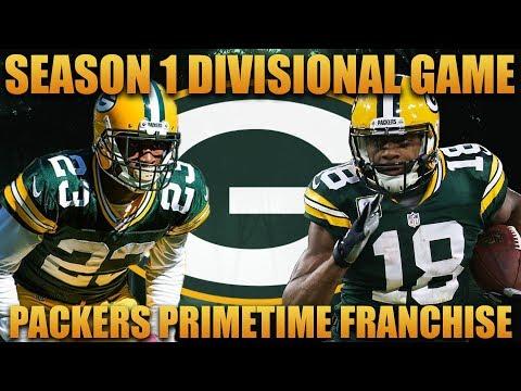 Madden 18 Packers Franchise   Primetime 2.0 League Season 1 Divisional Game!