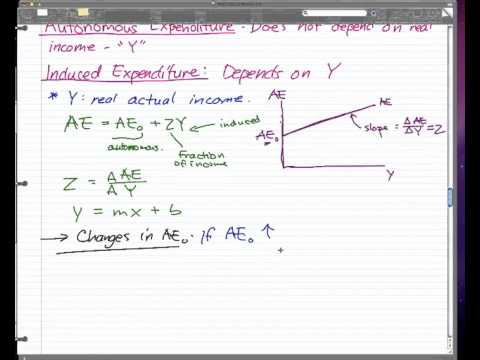 Macroeconomics - 10: Aggregate Expenditure (AE) Model