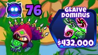 Level 76 Boomerang Paragon! - 5-5-5 Boomerang Glaive Dominus (Bloons TD 6)