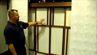 Mechoshade Whisper Glide Motorized Room Dividers