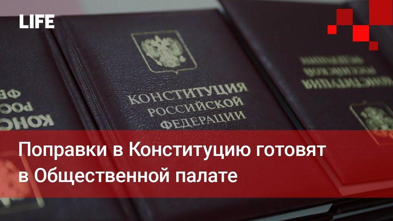 Поправки в Конституцию готовят в Общественной палате