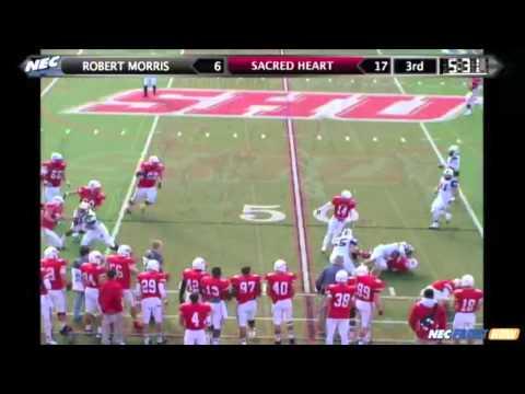 2012 Football Highlights vs. Robert Morris