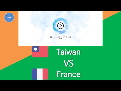 osu!catch World Cup 2016 Group Stage - Group E - Taiwan vs France