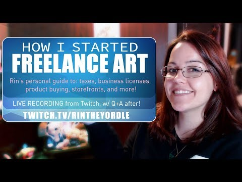 How I started Freelance Art: A Guide