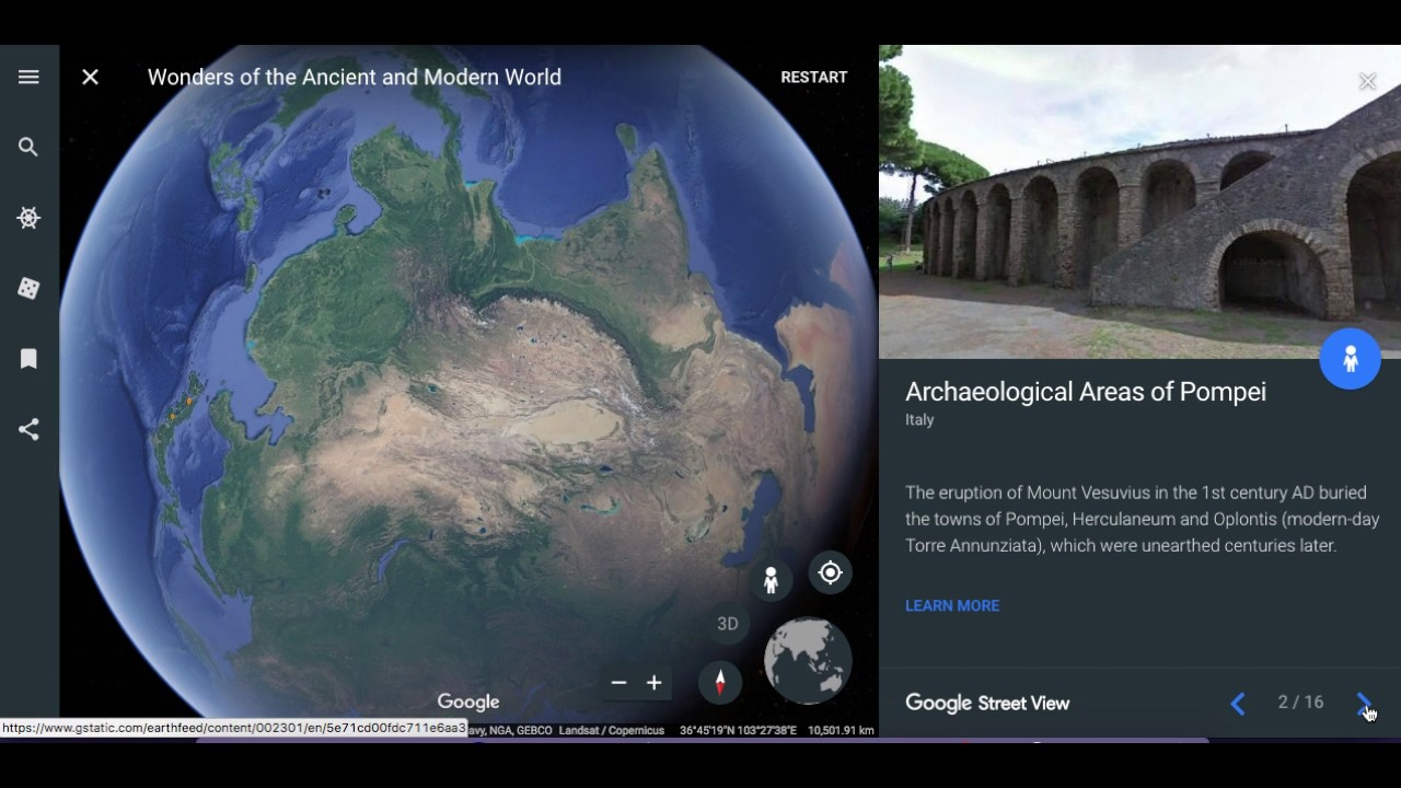 Image result for google earth voyager