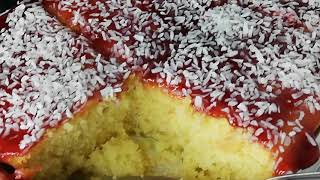 Coconut and Raspberry Cake Recipe  How To