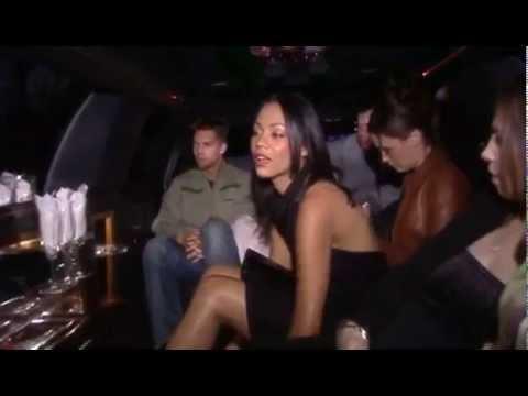 Zoe Saldana Crossroads Premiere 2002 [DVD Special Feature]