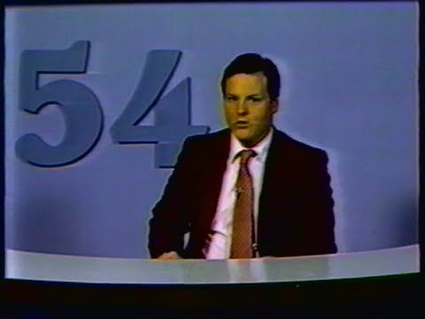 Leo as a TV News Anchor on Channel 54