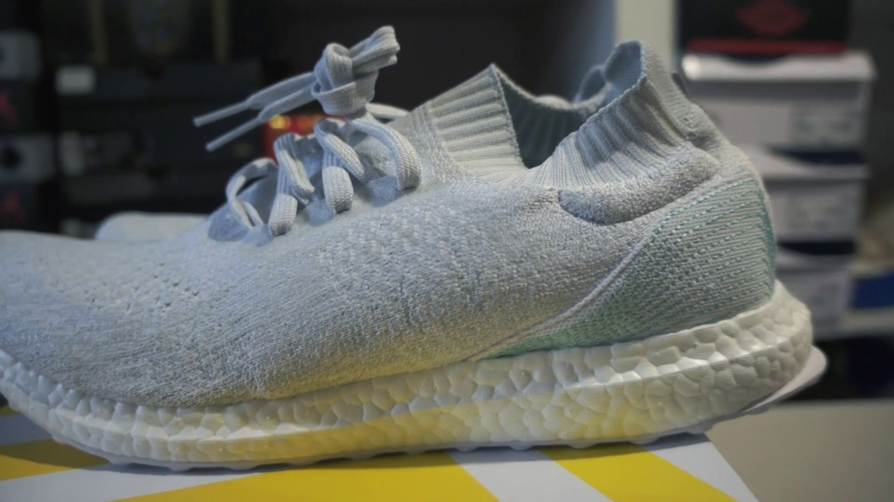 new arrival 0ab83 4a4a4 Reseña + En Pies  Adidas Ultra Boost Uncaged Parley - YouTub