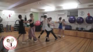 Урок ритмики танцевальной студии ТИП-ТОП г.Тюмень