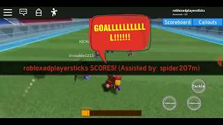 THIS IS THE BEST SOCCER GAME IN ROBLOX 2# (Super striker league)