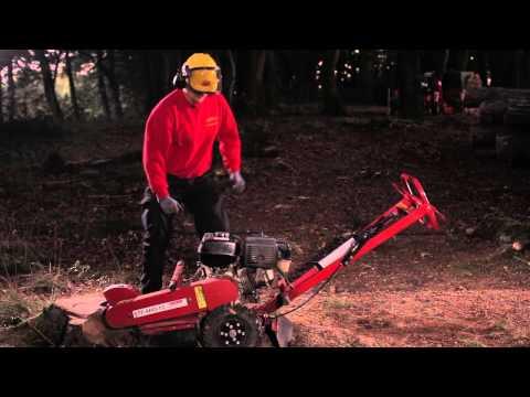 Video Die Baumstumpffräse - Rentas Werkzeugvermietung