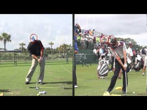 프로선수의 스윙에서 배우는 골프스윙 - 골프