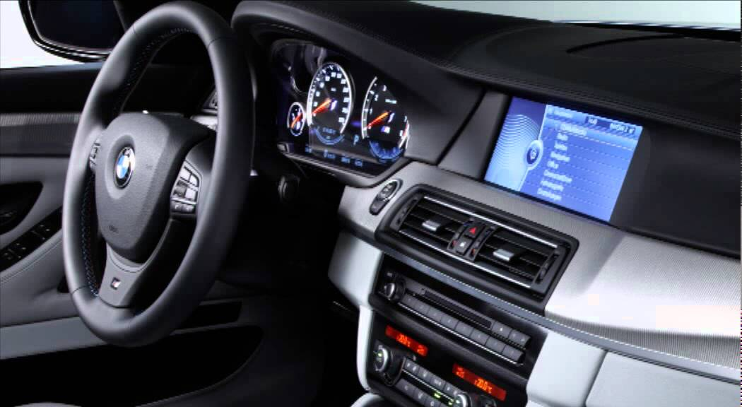 All New Bmw M5 2012 Interior Youtube