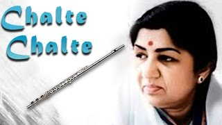 Chalte Chalte | Flute | Smooth And Soft Instrumental Music