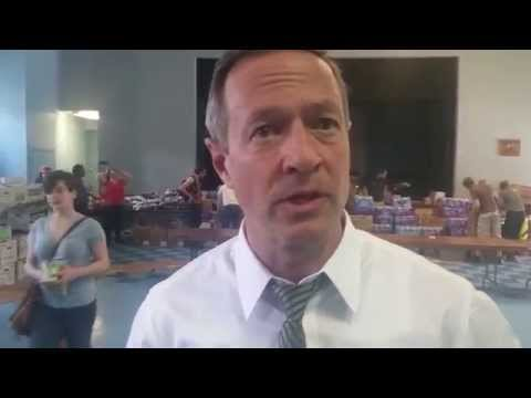 Interview with former Maryland Gov. Martin O'Malley