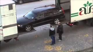 Loading car into box truck LIKE A BOSS