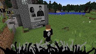 Primer concierto en Vivo en el mundo de Minecraft!