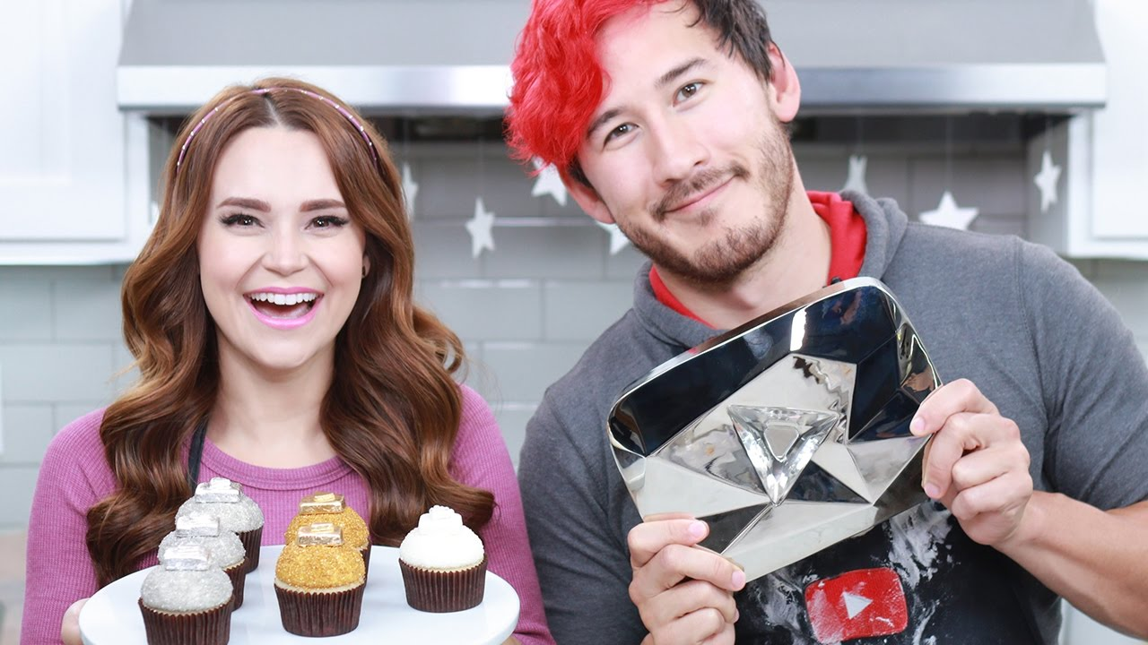 Youtube Play Button Cupcakes Ft Markiplier Nerdy