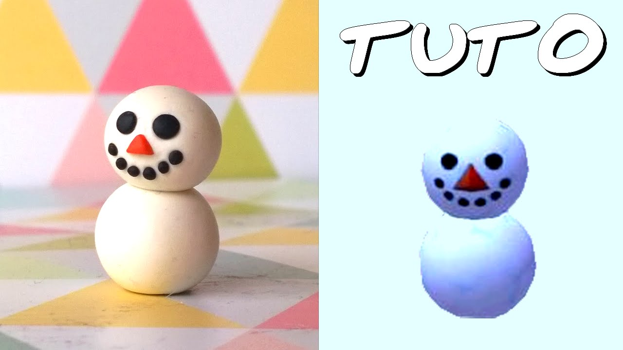 tuto fimo noel y titi bonhomme de neige de animal crossing facile youtube. Black Bedroom Furniture Sets. Home Design Ideas