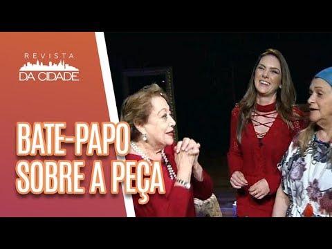 Suely Franco E Fafy Siqueira Falam Sobre A Peça