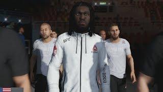 UFC 3 GOAT Career Mode - Moses UFC Debut! EA Sports UFC 3 Gameplay PS4