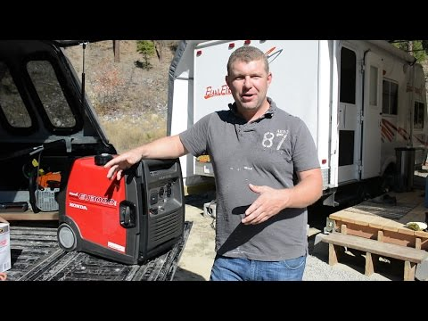 First Month Living off the Grid with Our Portable Generator - Honda EU3000i Handi Review