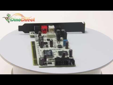 MUSILAND Moli High Quality PCI 2.0 Sound Card