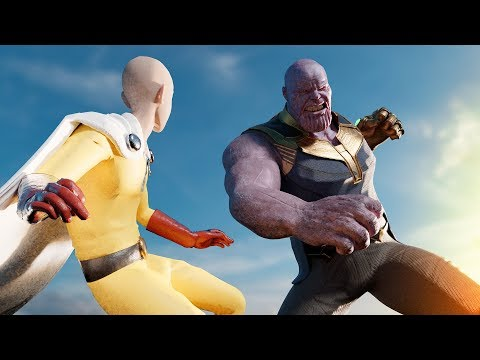 Thanos vs. Saitama (One Punch Man) | Part II