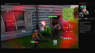 Fortnite battle solo trying to get 10 subs