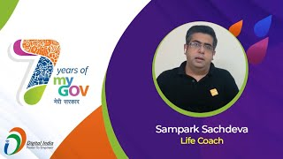 'Collaborating With The Indian Youth To Work For A Better India' - Sampark Sachdeva, Life Coach