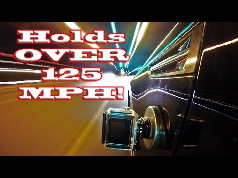 GoPro Magnet Mount DIY: POWERFUL, Paint Safe (won't scratch) , Easy and Cheap.